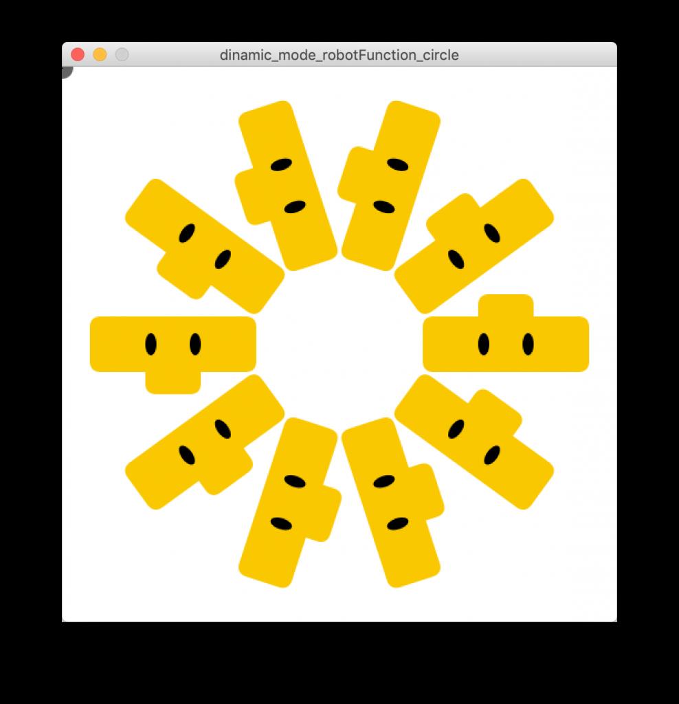 Circle of robots