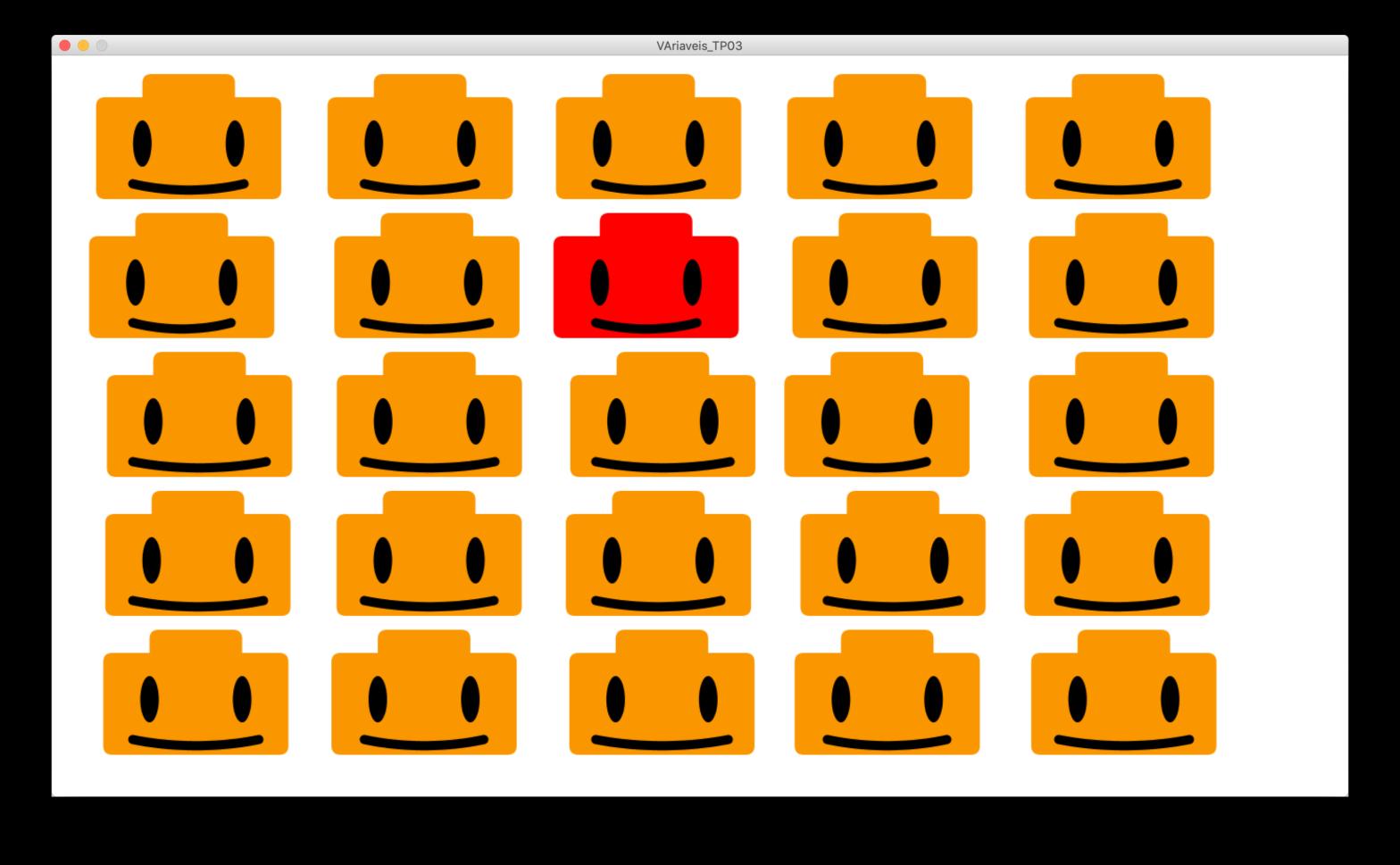 Smiley Variable Lego Heads. Variáveis, Ciclos e Condições